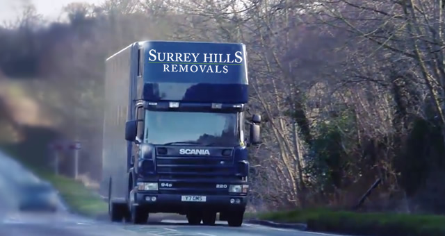 Removals Van in Surrey